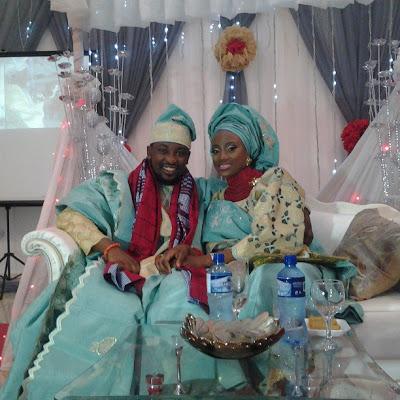 dotun taiwo oyebanjo dbanj sister wed pictures lailasblog
