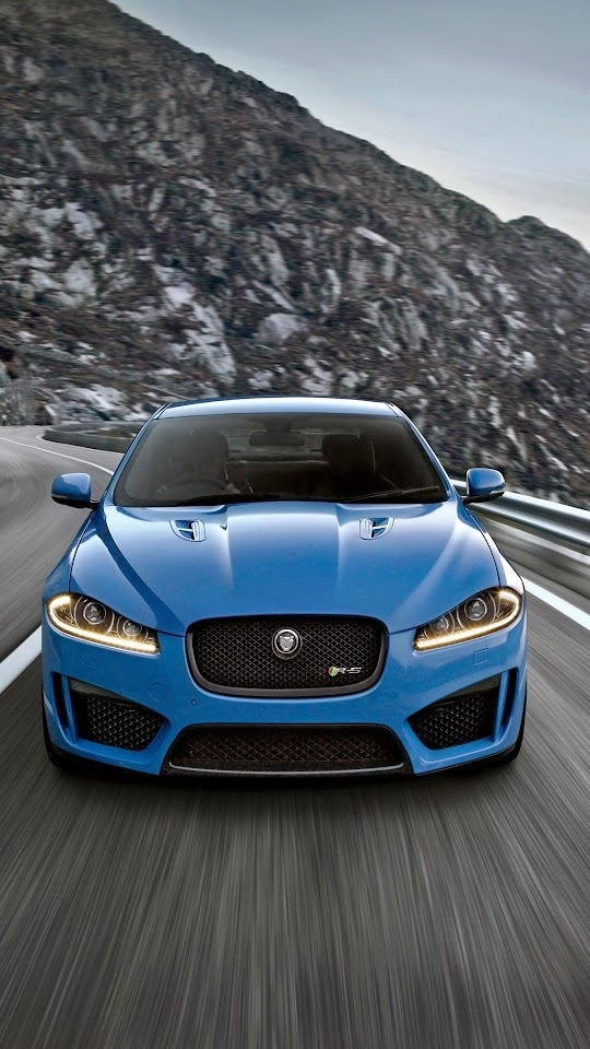 Jaguar XF Road 2015 Galaxy Note HD Wallpaper
