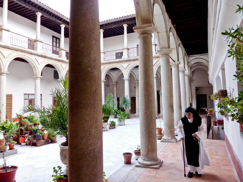 Claustro del Monasterio de San Clemente en Toledo