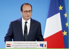 """Hollande y avance de yihadistas: """"No hay tiempo que perder"""" frente al Estado Islámico"""