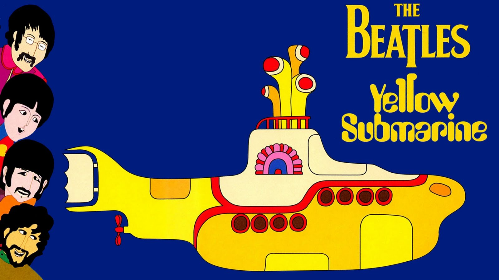 Обои The beatles, sgt. peppers lonely hearts club band, yellow submarine. Музыка foto 17
