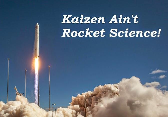kaizen ain't rocket science