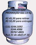 O gás mais barato de Piedade!