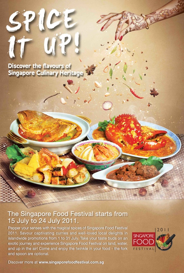 CAMEMBERU: Singapore Food Festival 2011 - Curries and Spices!
