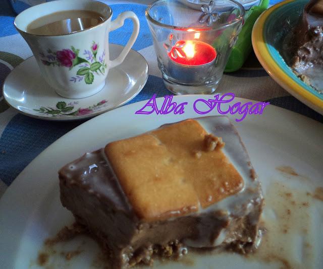 tarta de chocolate y leche condensada alba hogar