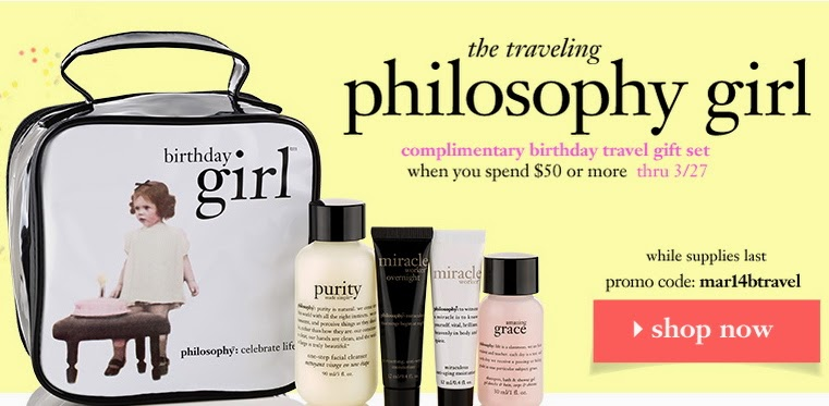 Philosophy Coupons & Freebies
