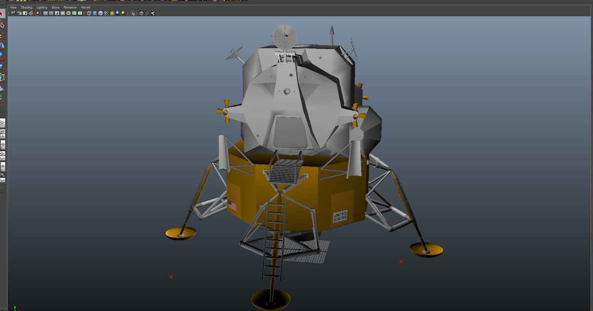 Basic Render of Lunar Lander   Installing Gazebo