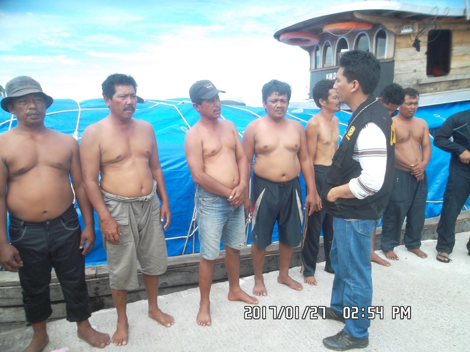 Kapal Patroli BC Teluk Nibung Tangkap KM.Daun Mas Penyeludup Balpres