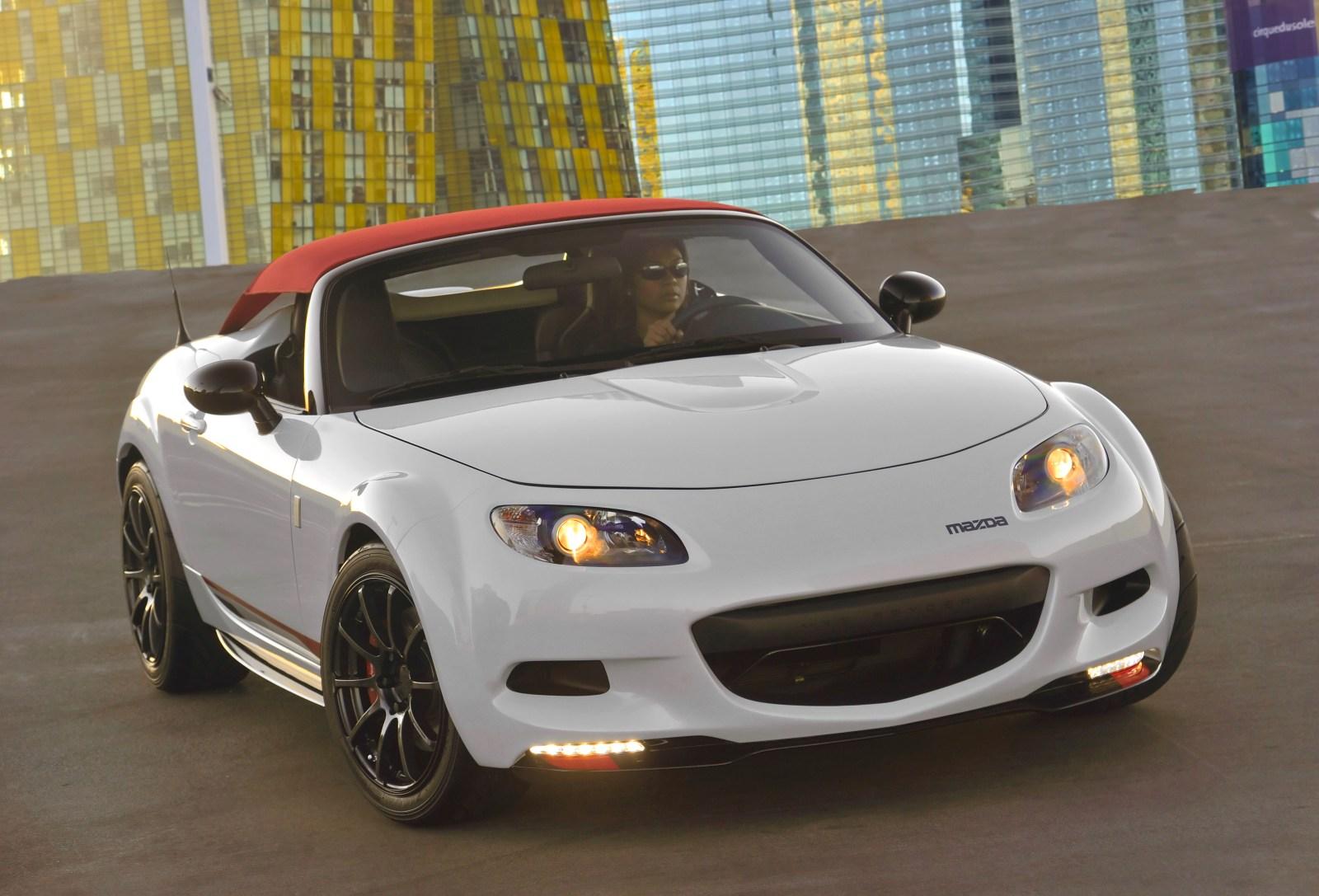 Roadster.Blog: Mazda MX-5 Spyder Concept