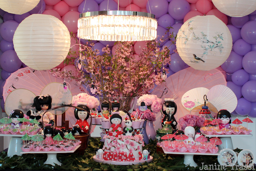 festa jardim japones : festa jardim japones:Recepção na maternidade, batizado e aniversário by Deborah Doll