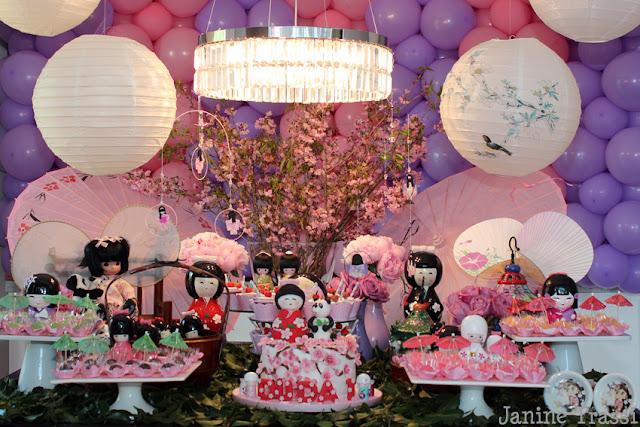 enfeites para jardim japones:Recepção na maternidade, batizado e aniversário by Deborah Doll