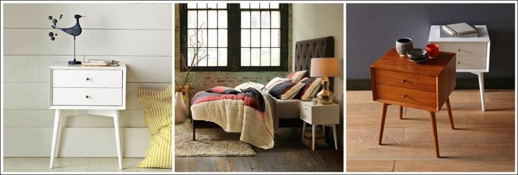 Tables de chevet pour votre chambre coucher d cor de for Table pour chambre a coucher