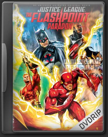 Liga de la Justicia: La Paradoja del Tiempo (DVDRip Español Latino) (2013)