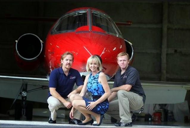 Trinity Air Ambulance Lear Jet