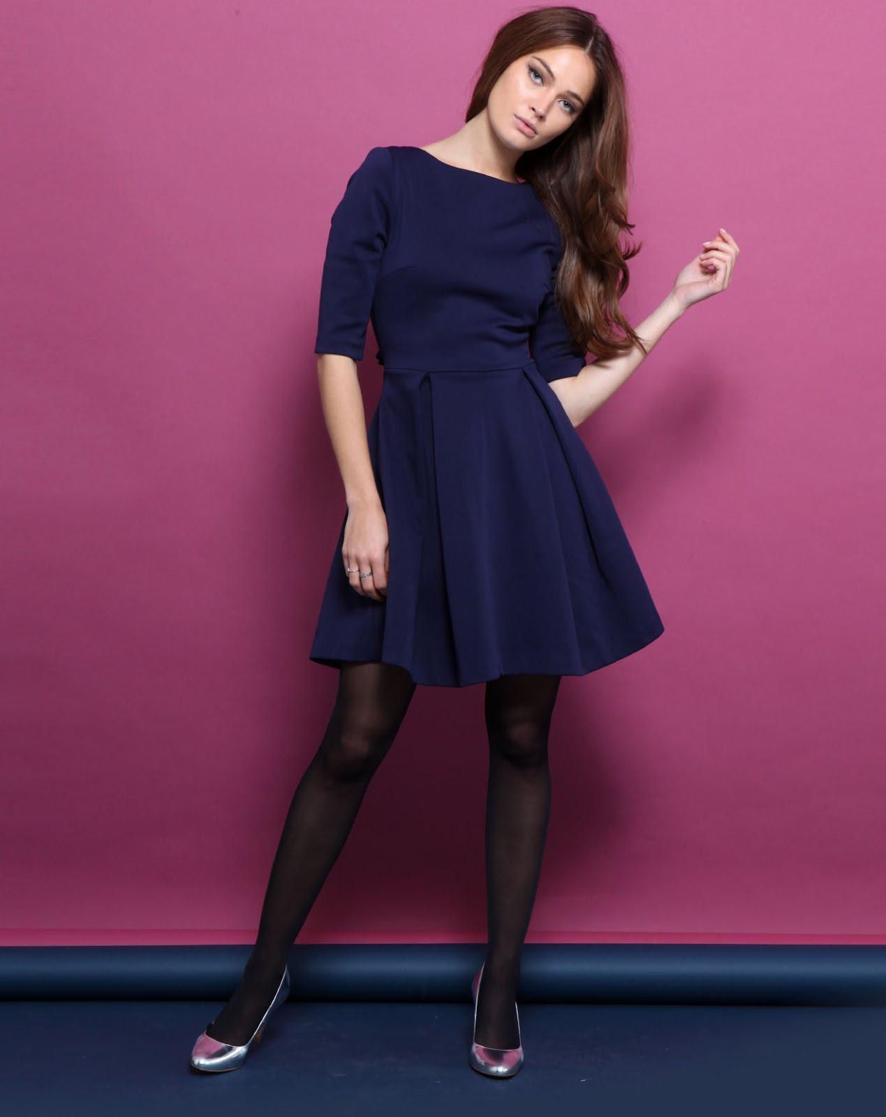 Robe bleue Manoush