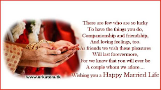 Happy Married Life Wishes Quotes