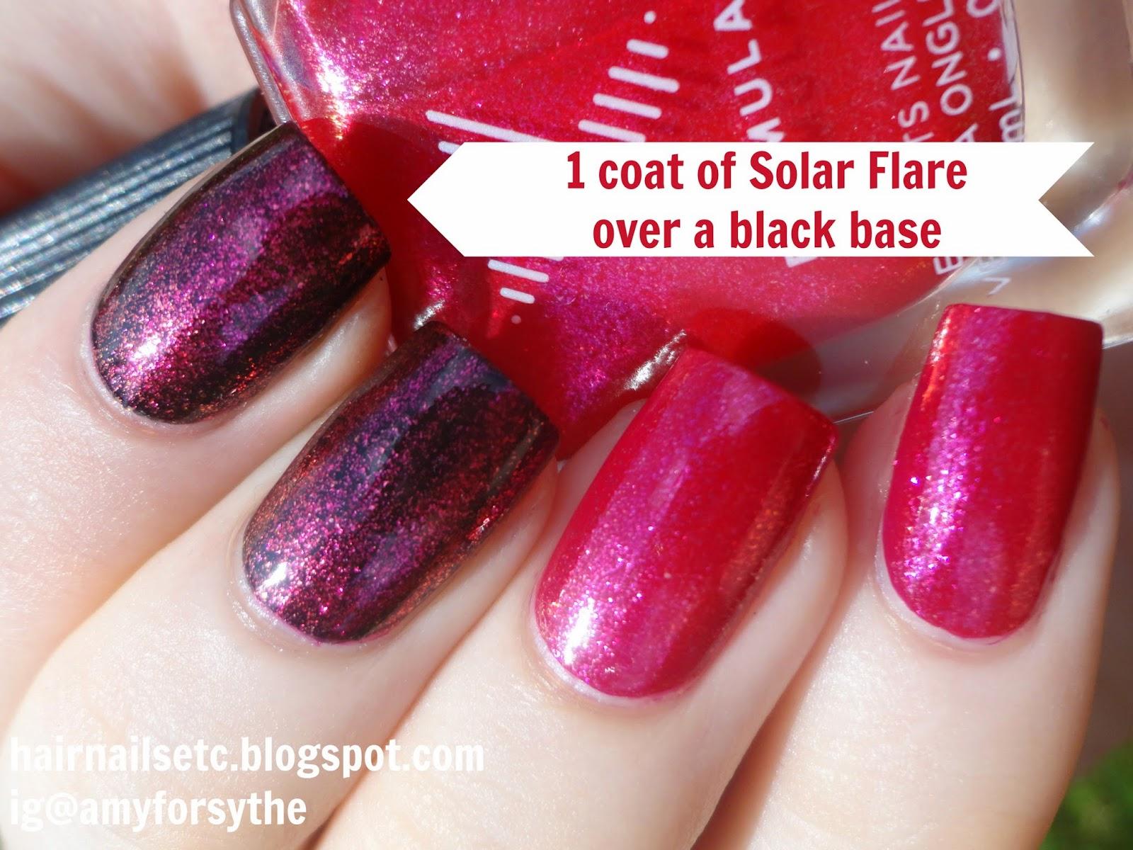 Sephora Formula X Solar Flare swatch