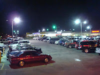 Parking lots at night can be dangerous, especially for women.