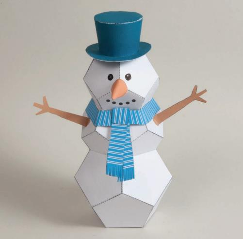 paper snowman Find great deals on ebay for paper snowman and paper snowman vintage shop with confidence.