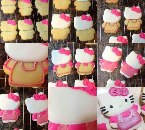 Love Kitty Cake Diy Tutorial Step By Step...