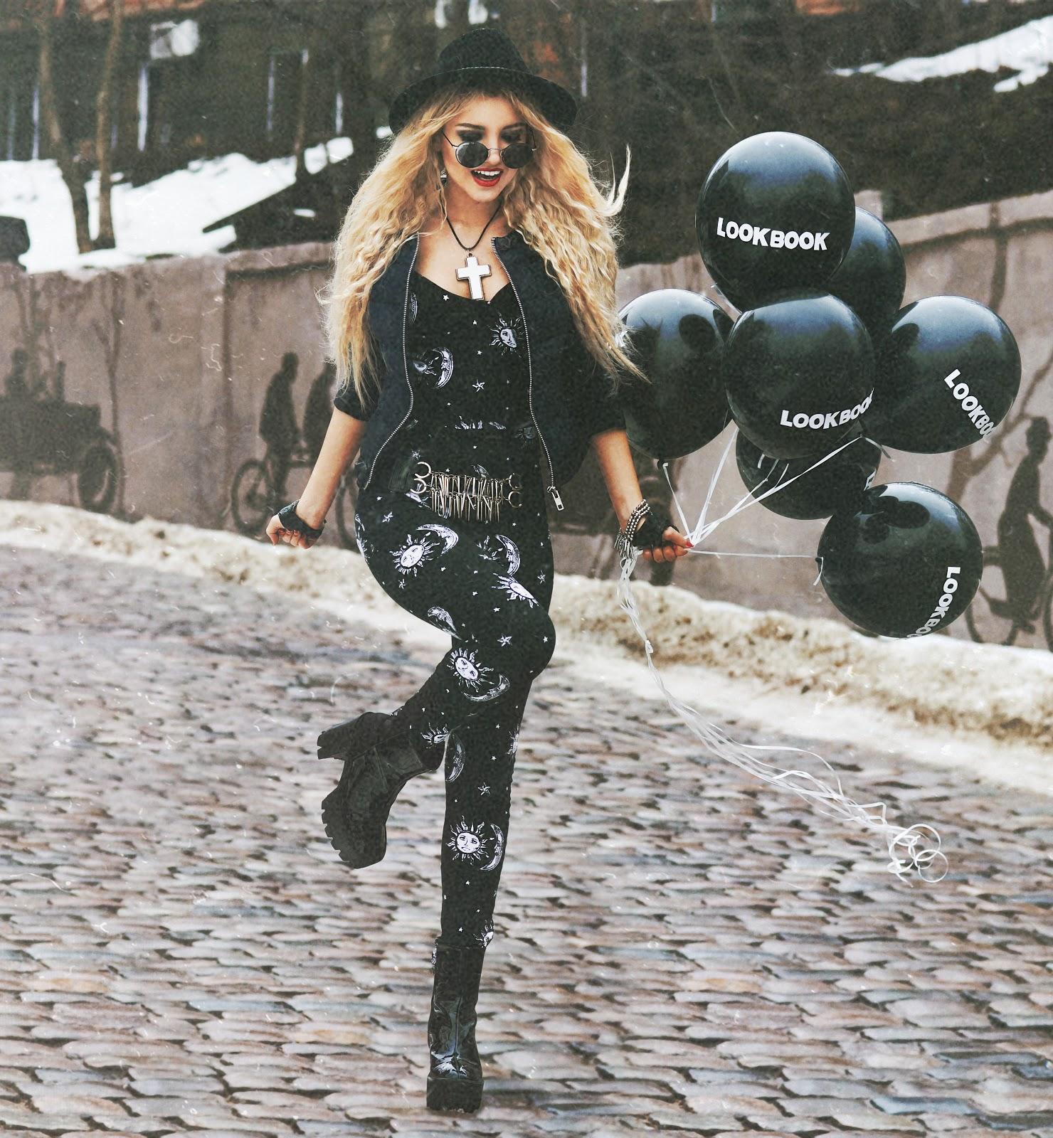 lookbook.nu , lookbooker, motelrocks jumpsuit, grunge style girls