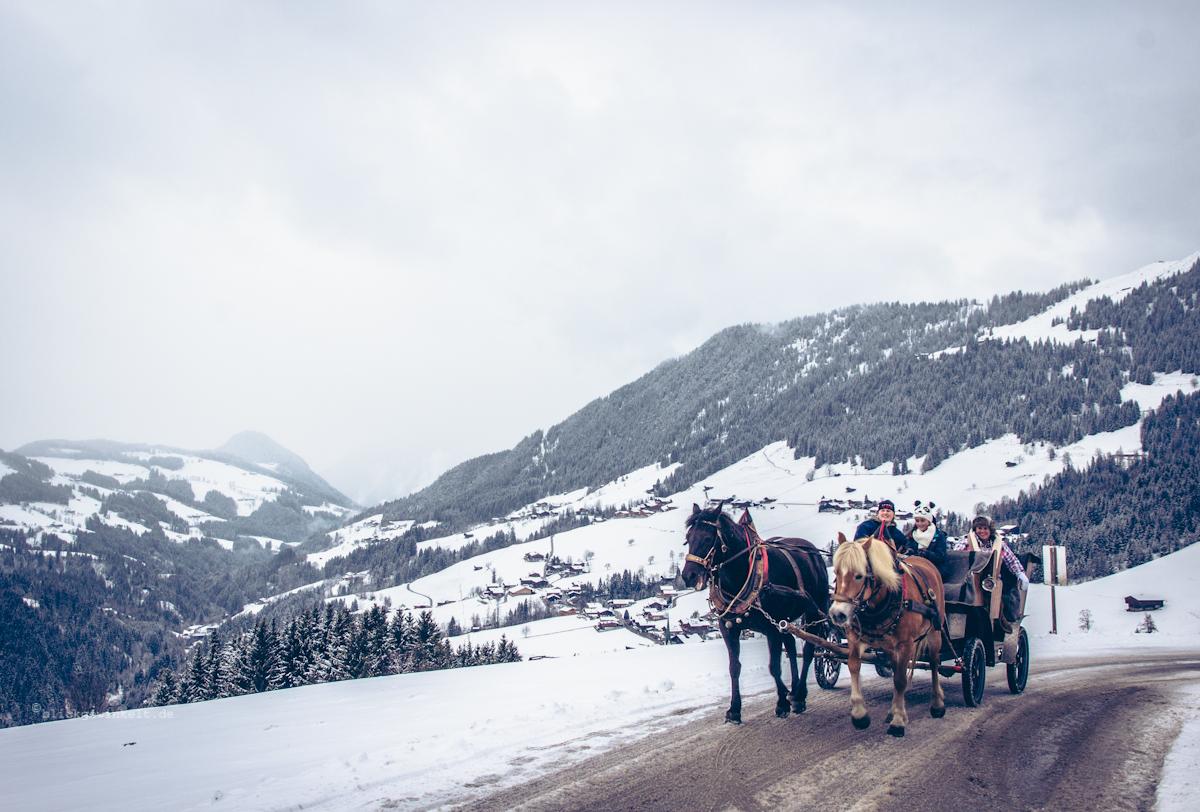 Pferdekutsche, Tirol