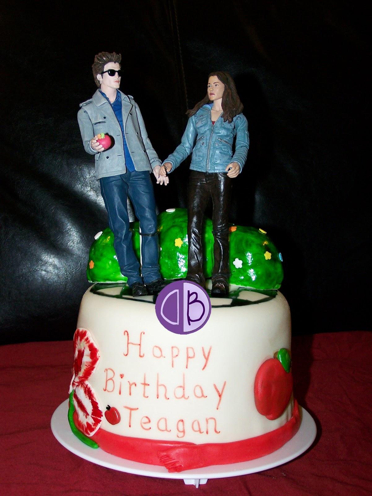 Cake Booth Twilight Theme Cake