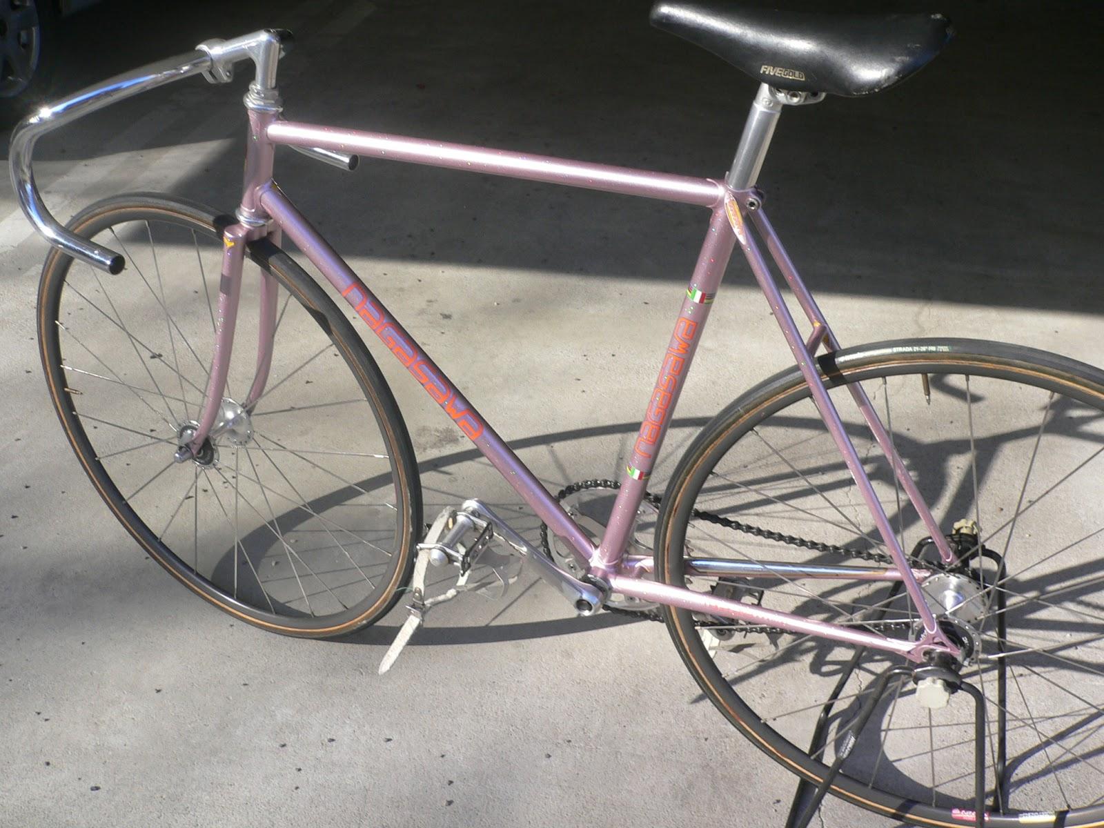 Njs Keirin Track Bike Frame For Sell Nagasawa Njs Keirin Bike