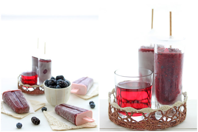 Foodagraphy. By Chelle.: Berry yogurt popsicles