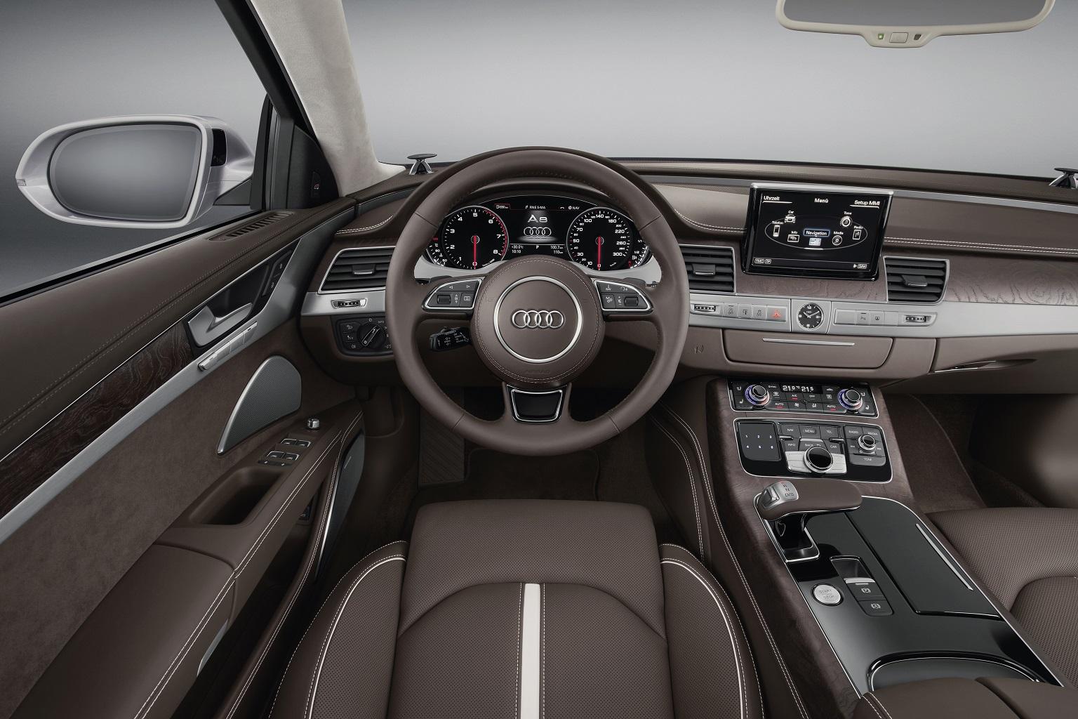 2014 Audi A8 TFSI Interior