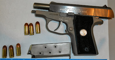 Loaded Gun Discovered at HOU