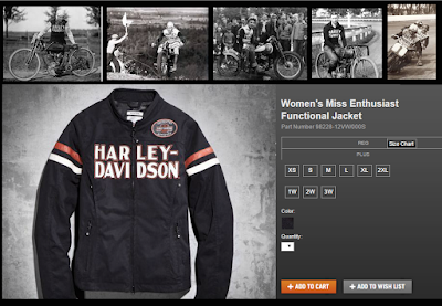 Harley-Davidson retro women's fashion