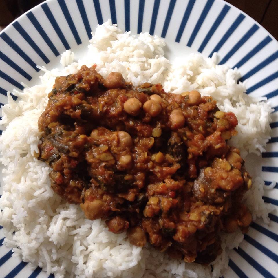 slimming world chickpea curry recipe