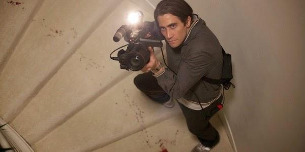 Jake Gyllenhaal em O ABUTRE (Nightcrawler)