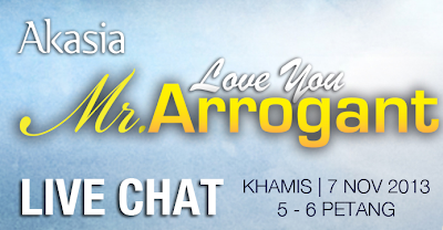 Live Chat bersama pelakon Love You Mr Arrogant