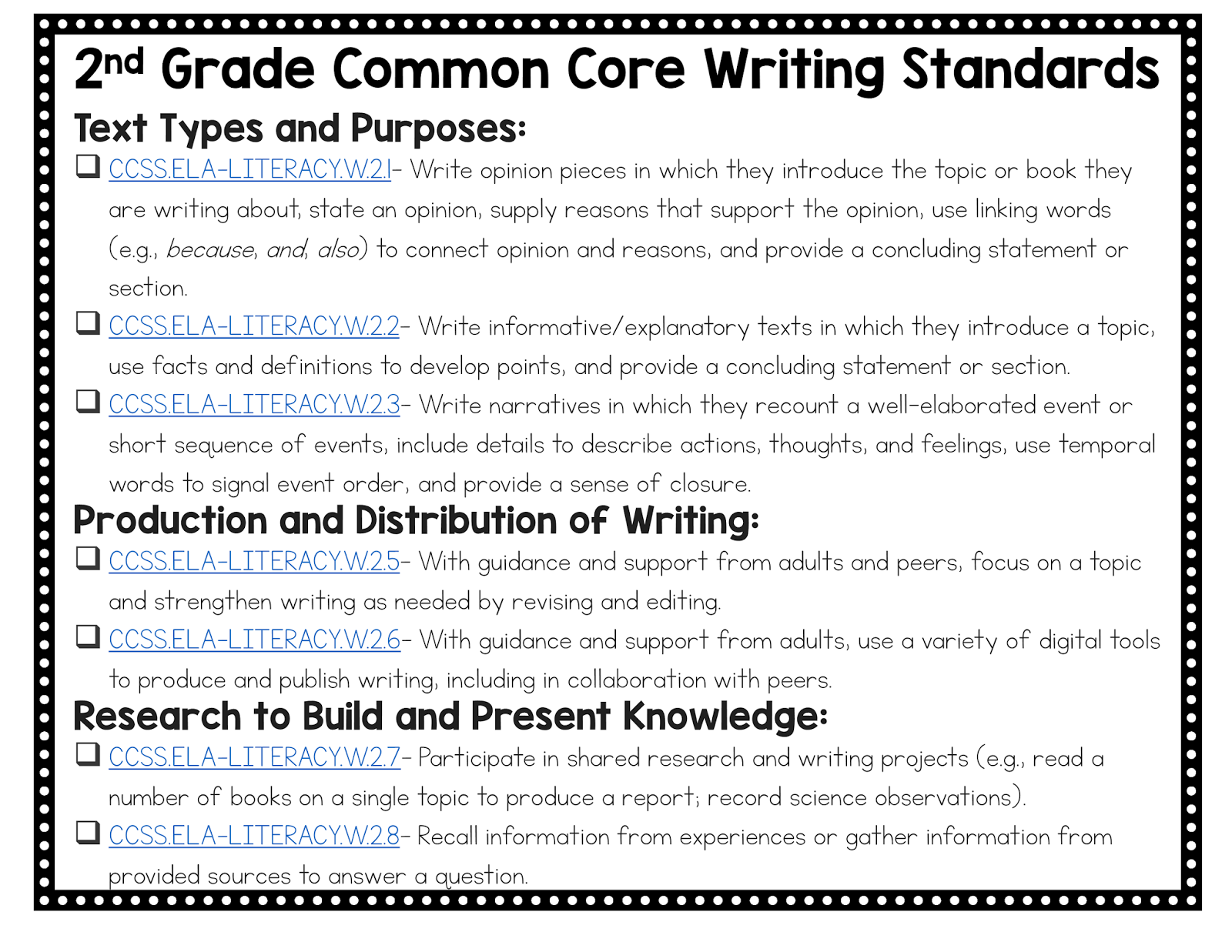 2nd grade narrative writing 2nd grade narrative writing checklistpdf 2nd grade rubric for narrative writingpdf common core state standards narrativepdf 2nd 3rd narrative writing checklistpdf.