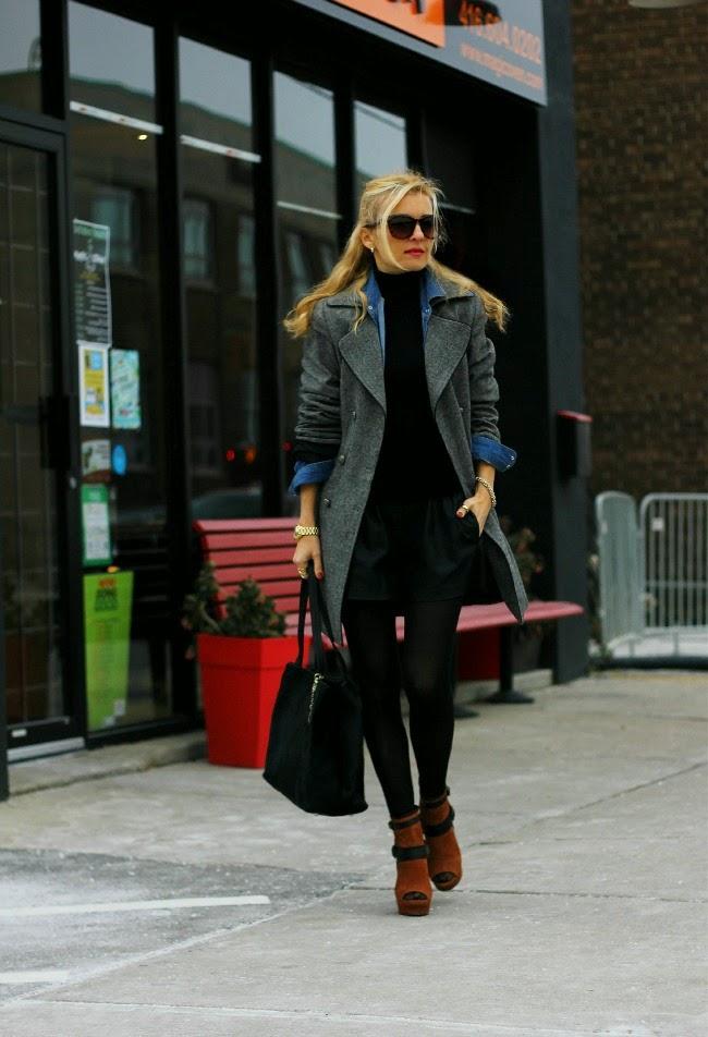 zara shorts dkny bag amadeusonthecatwalk