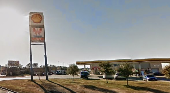 Whataburger - 2900 N Airfield Dr. Irving Texas - In a Shell Station