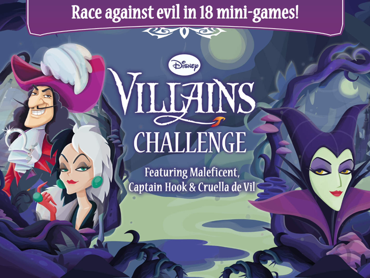 Disney Villains Challenge Free App Game
