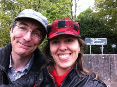 Tatiana Kostiuk et Philippe Dornbusch au Château de Miromesnil © Chess & Strategy