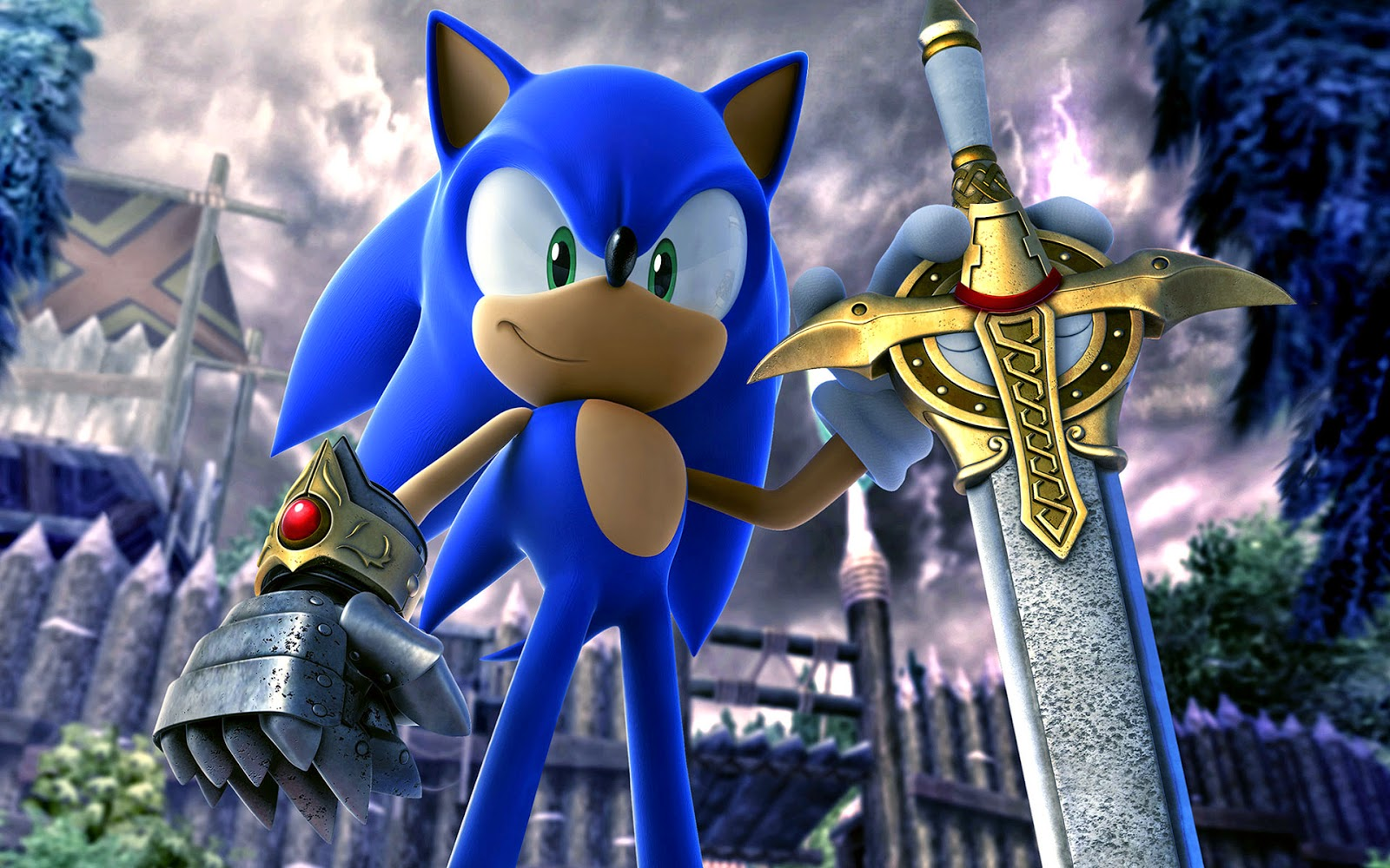 Sonic Hedgehog Wallpaper Hd 3d Best Pictures Gambar Lucu Terbaru