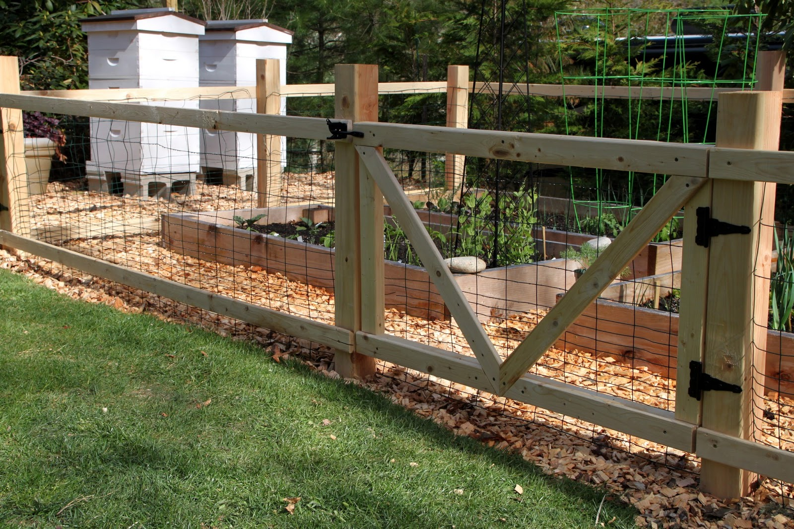 Tilly 39 s nest a simple garden fence for Simple fence plans