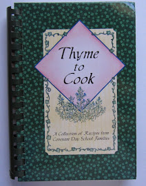 Matthews NC Cookbook Covenant Day School Thyme to Cook