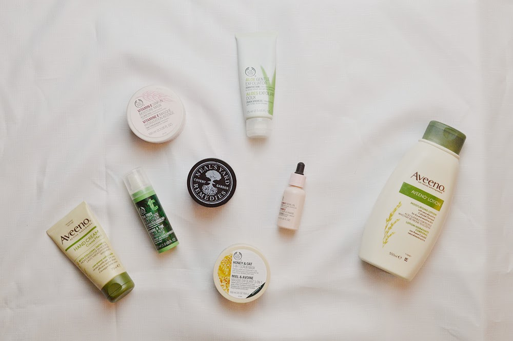 Sensitive skin care routine products reviews