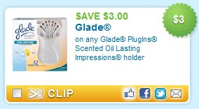 Save $3.00 off Glade