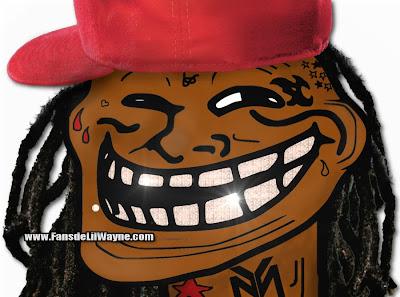 lil wayne meme trollface coolface
