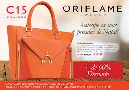 Consulte também o flyer do Catálogo Oriflame