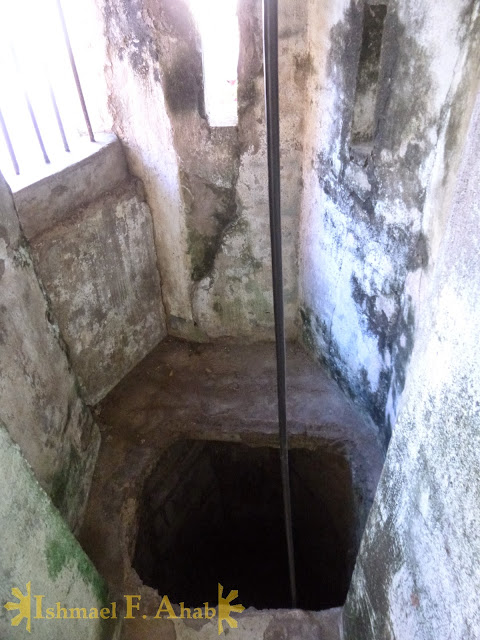 World War 2 tunnel in Plaza Cuartel