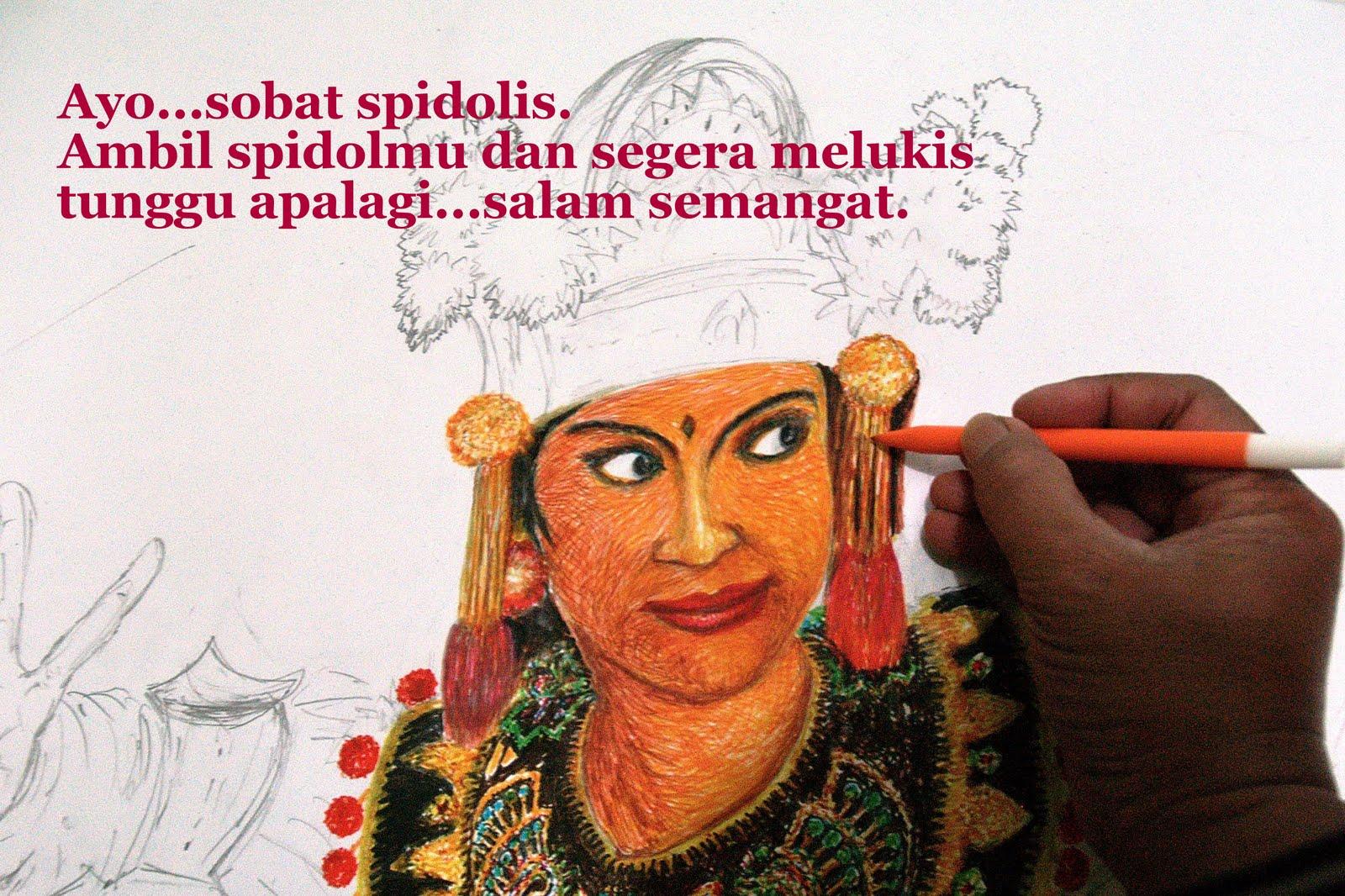 ayo ...melukis dengan spidol