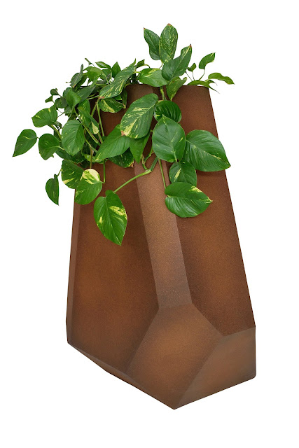 Outdoor Geometric Planters